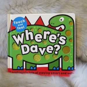 'Where's Dave' Interactive touch and feel book.